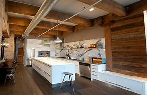 15 outstanding industrial kitchens home design lover With aesthetic elements in designing a rustic kitchen