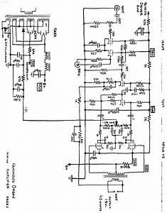 Hammond Organ Type E 16dbw Main Amplifier  2 7591a