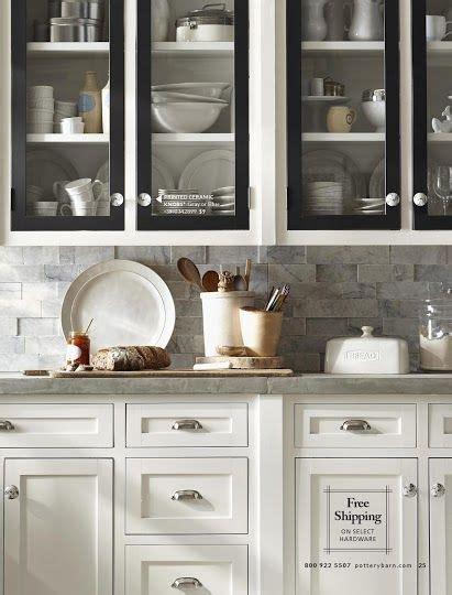 pottery barn kitchen cabinets pottery barn white kitchen cabinets with black doors grey 4375