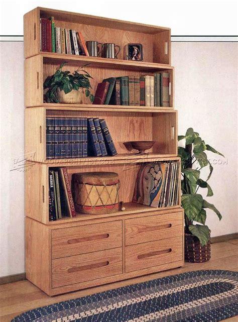Bookshelf Plans by Bookshelf Plans Woodarchivist
