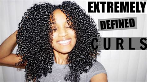 Shingling Method for EXTREMELY Defined Curls (ALL Natural