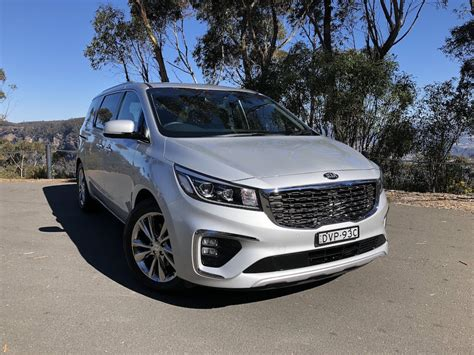kia carnival platinum review practical motoring