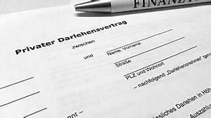 Geld Verleihen Privat : privater darlehensvertrag muster f r privatkredit jetzt ~ Jslefanu.com Haus und Dekorationen
