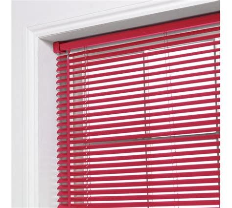 Buy Colourmatch Pvc Venetian Blind  3ft  Poppy Red At