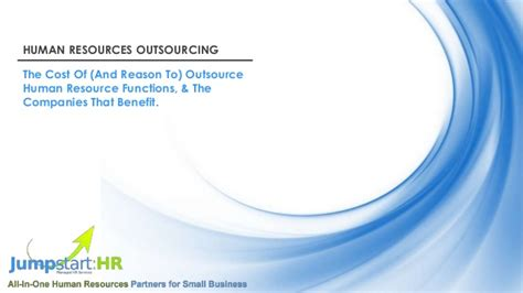 companies outsource human resources