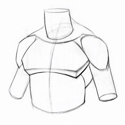 Pecs Draw Form Proko Start Drawing Muscle