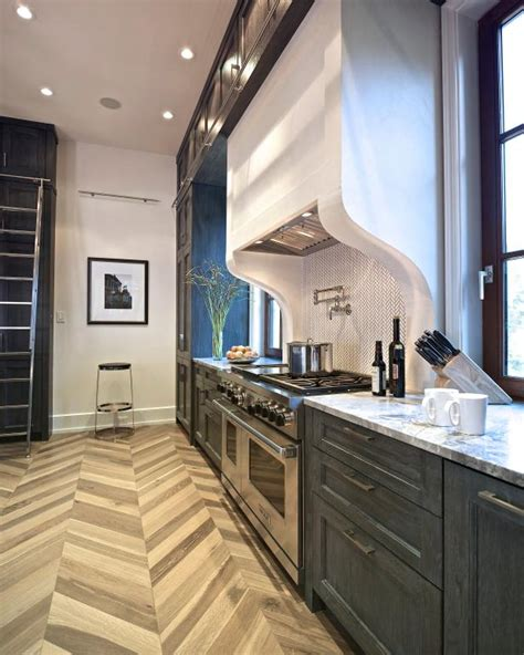 townhouse kitchen features floor  ceiling cabinets hgtv