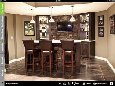 cheap kitchen backsplash turning dining room area to bar entertainment area