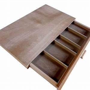 Boite A Tiroir : boite de rangement pour pastels 1 tiroir ~ Teatrodelosmanantiales.com Idées de Décoration