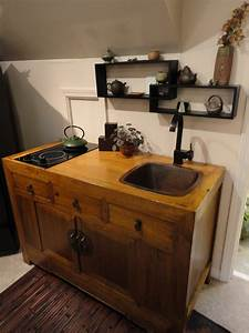 kitchenette unit retro small kitchens design with dugtig With furniture for kitchenette
