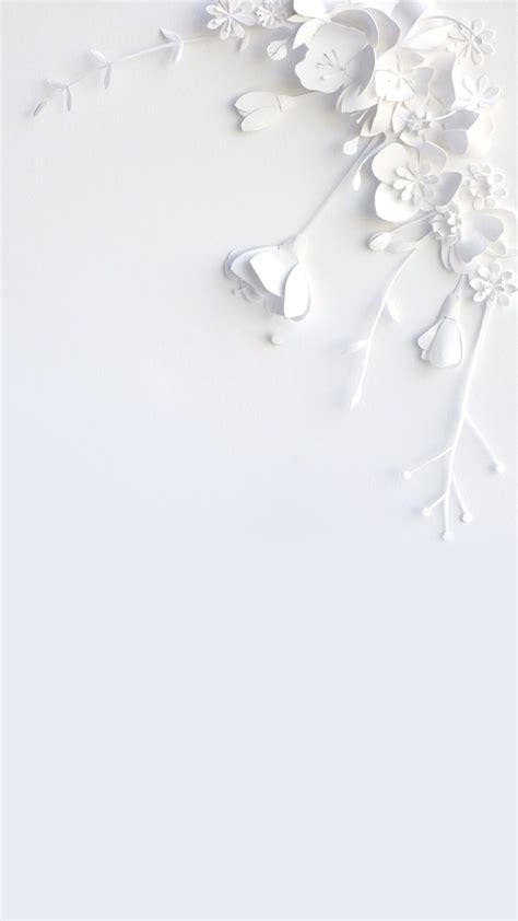 White Flower Background White Flower Wallpaper Wallpapers In 2018