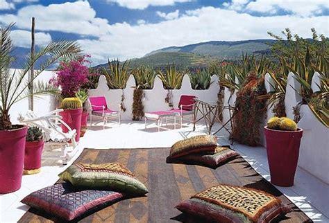 moroccan patio design decorating ideas design