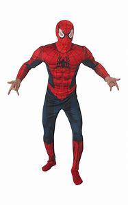 Spiderman-Kostüm für Herren Marvel rot-blau