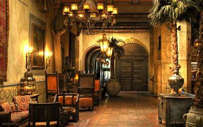 Castle Interior Living Medieval Wallpapers Hotel Rooms