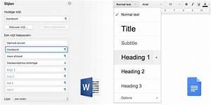 vormgeving en kopij tja hier de gouden tips With google documents microsoft word