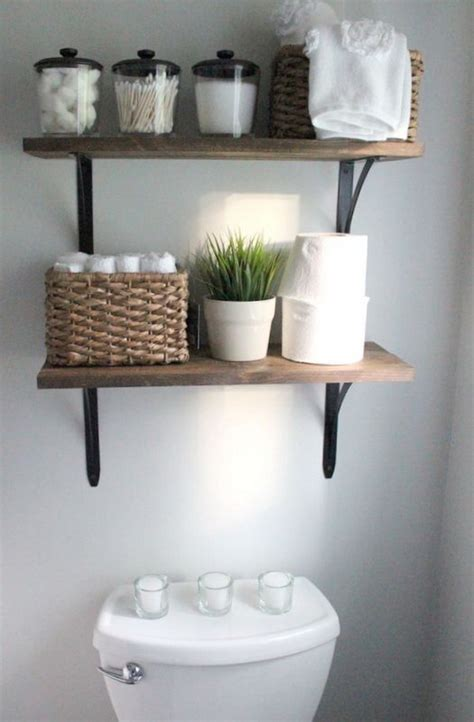 bathroom shelving ideas awesome the toilet storage organization ideas