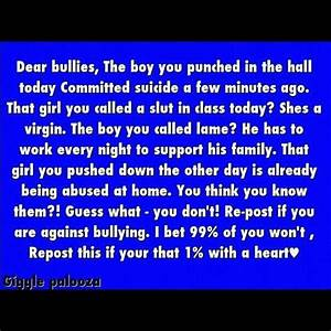 bullying quotes   Quotes   Pinterest
