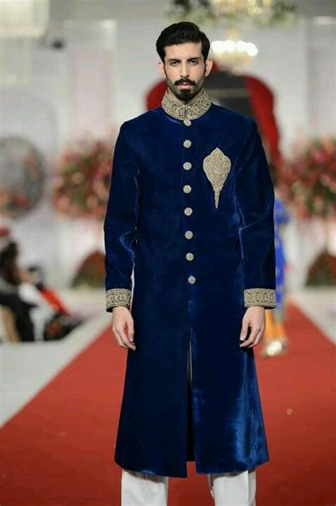 royal blue kurta indian groom pinterest royal blue