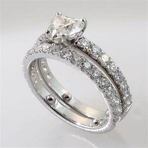 Promise engagement wedding ring set wedding ring styles for Promise engagement wedding ring set
