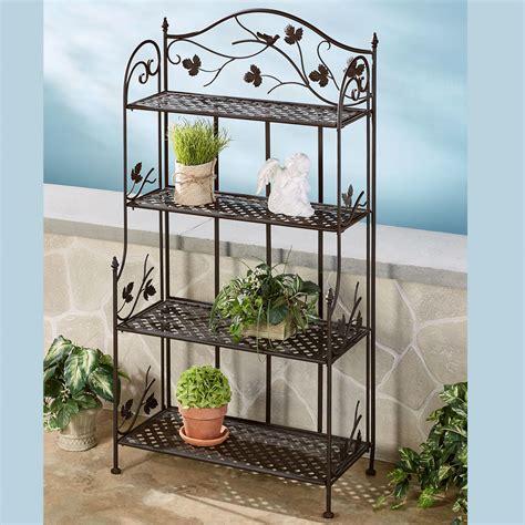 Outdoor Etagere songbird symphony indoor outdoor etagere
