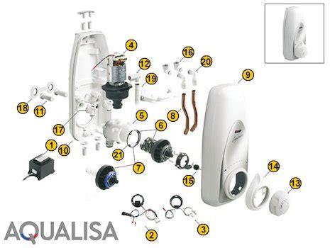 Wiring For Digital Shower by Aqualisa 1 50m Metal Shower Hose Chrome Aqualisa