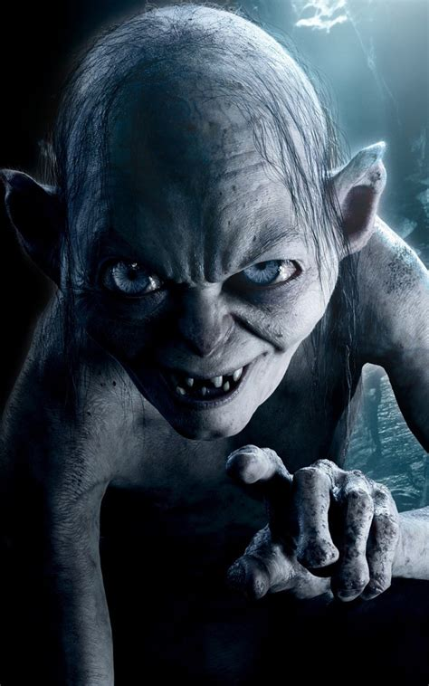Scary Lock Screen Wallpaper Hd by Gollum Lord Of The Rings Lockscreen Android Wallpaper Free