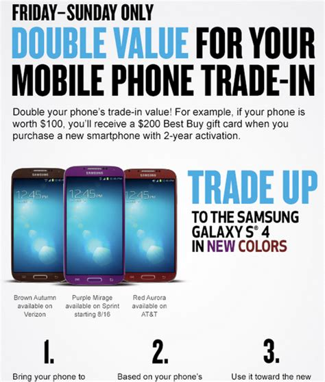 iphone trade in value best buy offering trade in value 100 on
