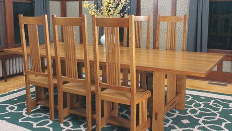 stickley style dining chairs finewoodworking