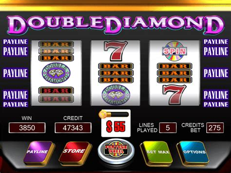 Double Diamond Slot (by Igt) No Registration With Free