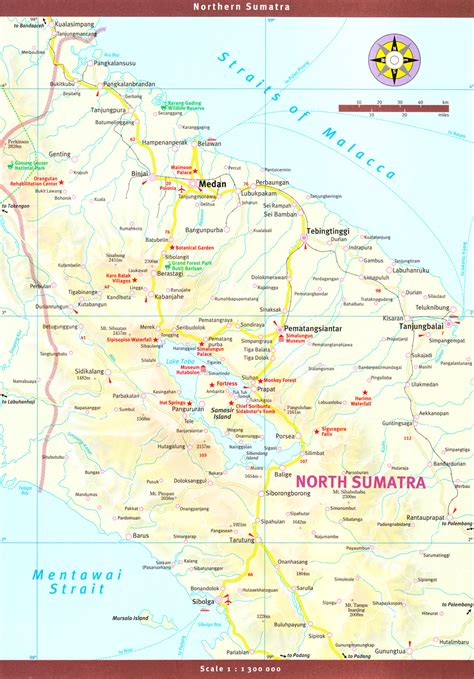 detailed maps  indonesia