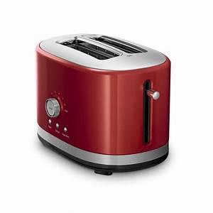 Kitchen Aid Toaster : kitchenaid kmt2116er 2 slice slot toaster with high lift lever empire red ebay ~ Yasmunasinghe.com Haus und Dekorationen