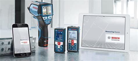bosch measuring master bosch measuring master app powertool world