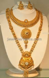 jumka earrings khazana gold haram necklace designs
