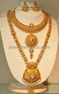 Khazana gold Haram   long necklace designs - Latest ...