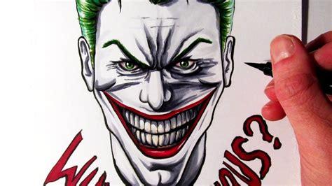 lets draw  joker fan art friday youtube