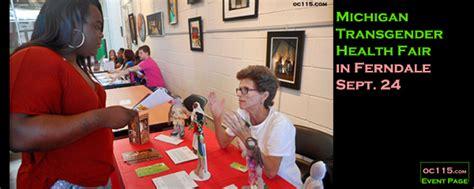 michigan transgender health fair ferndale sept oakland county