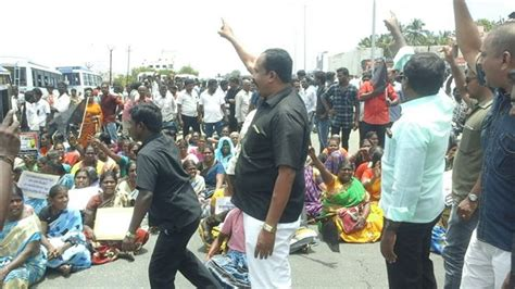 lay siege lay siege to thoothukudi district collector