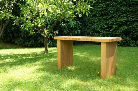 engraved garden benches wooden garden bench makemesomethingspecial