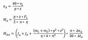 Beschleunigungszeit Berechnen : kupplung und antriebsmoment berechnen ~ Themetempest.com Abrechnung