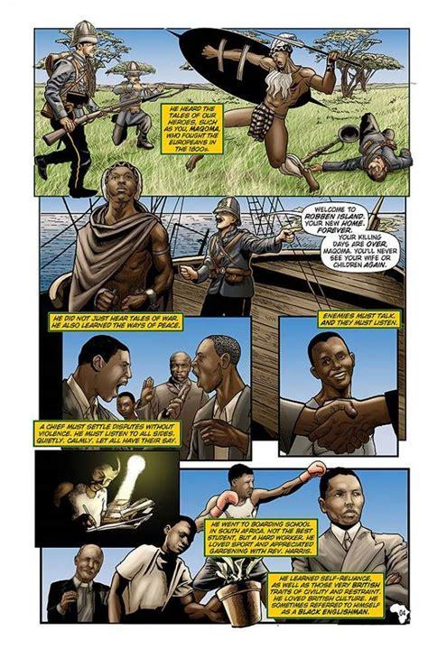 anorak news   nelson mandela comic books