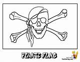 Pirate Coloring Flag Skull Pages Yescoloring Pirates Costume Scurvy sketch template