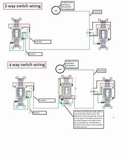 Can You Supply A Diagram And Instructions To Wire 3 Way  And Preferably 4 Way  Using An Existing