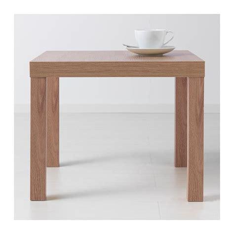 ikea lack side table oak effect  cm buy