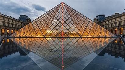 Ultra Wallpapers Louvre 4k Pyramid