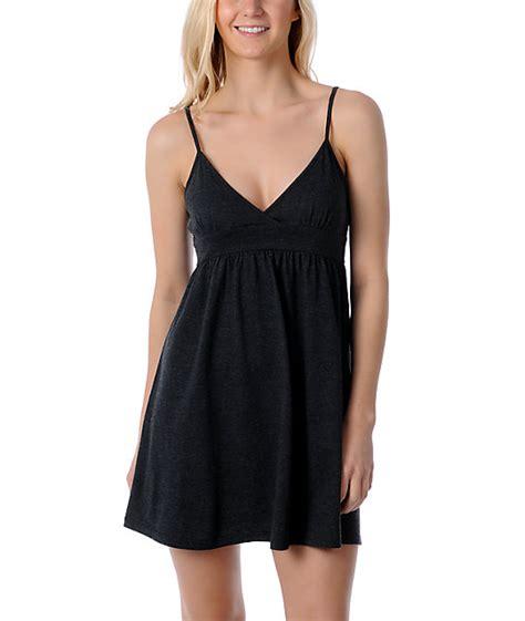 Dress Atasan Tank Top zine black tank top dress cover up zumiez