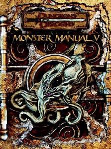 Monster Manual V  Dungeons  U0026 Dragons D20 3 5 Fantasy
