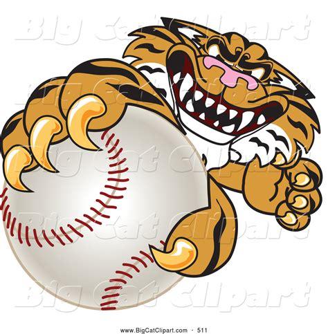 mascot clipart royalty free school sport stock big cat designs