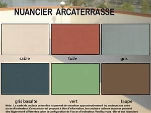 Peinture Balcon Sol : peinture tanche pour un sol arcaterrasse arcane ~ Premium-room.com Idées de Décoration
