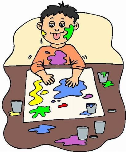 Clip Painting Clipart Paint Face Cliparts Activities