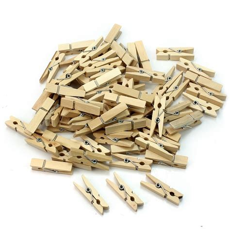 wholesale small mine size 25mm natural wooden